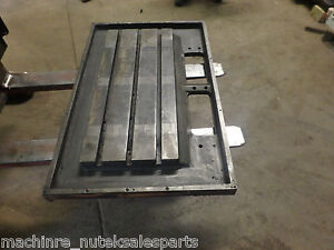 37 75 X 24 X 3 5 Steel Weld T slotted Table Cast Iron Layout Plate Jig Weld