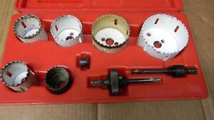 Blue Point 8pc Hole Saw Set lhs608a