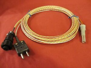 Watlow G2a 2052 Firerod W Thermocouple Cable Adapter Connector