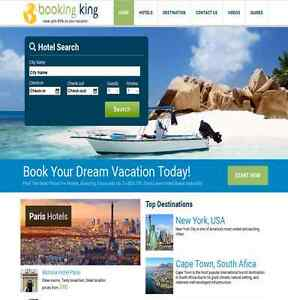 100 Automated Travel Hotel Booking Search Engine Website No Experience Required