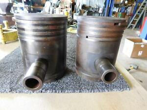 John Deere Unstyled A Tractor 045 Oversized Piston Set A1893r As Shown