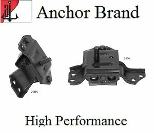 2 Pcs Front Motor Mount 1999 2004 Ford Mustang 3 8l