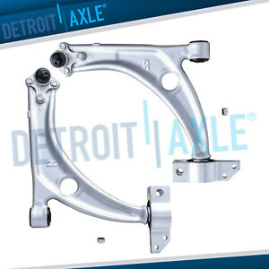 2 New Front Lower Control Arms Ball Joints For Volkswagen Passat Tiguan Cc