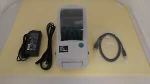 Zebra Lp 2824 z Direct Thermal Printer With Usb And Rs232 Ports 282z 21100 0001