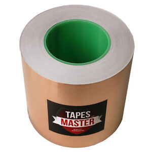 5 X 55 Yds 127mmx50m Copper Foil Tape emi Conductive Adhesive ship From Usa