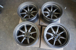 Jdm 15 Ae86 Datsun Ta22 Pcd114 3 Staggered Wheels 240z Watanabe Style Z31 Rs