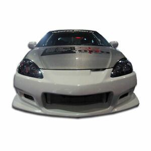 C 2 Front Bumper Cover 1 Piece Fits Acura Rsx 05 06 Duraflex