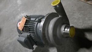 Ampco 2 5x2dc2 6 5 Impeller Stainless Pump W 3hp Motor New Surplus