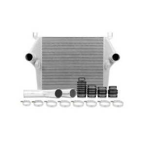 Mishimoto Intercooler W Pipe And Boot Kit Silver For Dodge Cummins 5 9l 03 07