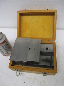 Eclipse Sheffield England Toolmakers Magnetic Grinding Vise