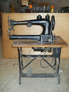 Singer Industrial Sewing Machine Model 11 13