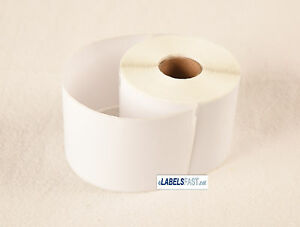 White Adhesive Labels 15 Rolls Of 99019 Compatible For Dymo Costar Multipurpose