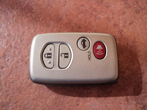 Toyot4 Aurion Camry Hybrid 2008 2011 Genuine Remote Immobilizer Smart Key