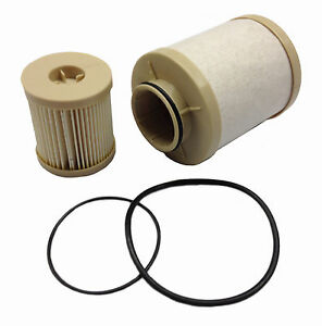 2003 2007 Ford 6 0l Fuel Filter Set Fd4616 Both Upper And Lower Filter Included
