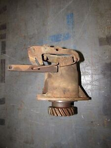 International 574 Tractor C200 Gas Engine Governor