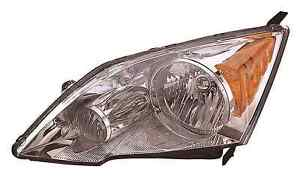 New Honda Crv 2007 2008 2009 2010 2011 Left Driver Headlight Head Light