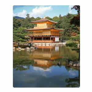 Japanese Mouse Pad Temple Of The Golden Pavilion Kinkakuji Kyoto From Japan