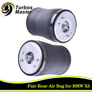 Rear Pair Air Suspension Bags For Bmw X5 E53 3 0i 4 4i 4 6 4 8is 2000 2006