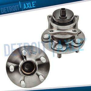 New 2 Rear Wheel Hub And Bearing Assembly Fwd 1 8l 5 Lug W Abs Corolla Vibe