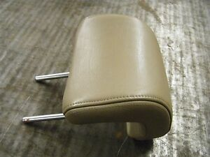 2000 Saab 9 5 Leather Headrest Tan Front Drivers
