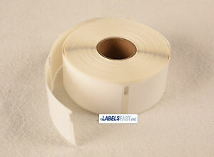 25 Rolls Of 400 Pricetag Labels rat Tail Style For Dymo Labelwriter 30373