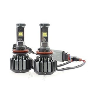 V16 Turbo Led Headlight Kit 60w 7200lm set Bulb Size H11 h9 Xenon 6000k