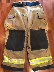 Firefighter Bunker Turnout Gear Pants Globe 38x28 G Extreme Halloween Costume