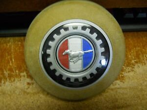 Nos 1982 1983 Ford Mustang Steering Wheel Horn Button