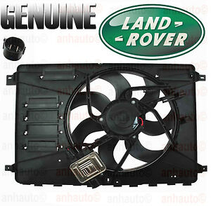 Genuine Land Rover Lr2 Cooling Fan Assembly With Cooling Fan Module Control