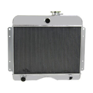 Pro 3 Row Aluminum Radiator For Jeep Willys 1946 1964 Willys Station Wagon