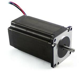 Dual Shaft Nema 23 Stepper Motor 3 5a 381oz in Cnc Automation Router