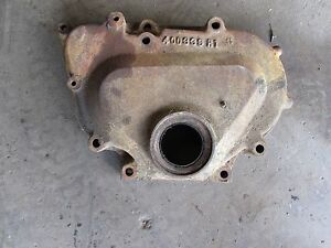 International 574 Tractor C200 Gas Engine Front Gear Cover