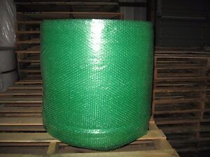 3 16 Small Green Recycled Bubble 24 X 300 Per Roll Ships Free