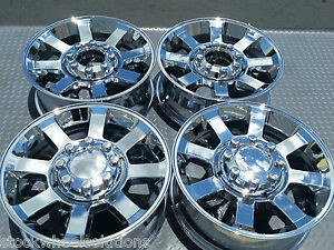 Fits Ford F250 F350 20 Hd Wheels 2007 10 Factory Style Sd Chrome Rims 3693