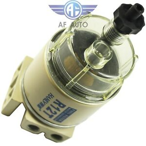 Brand New R12t Marine Spin On Diesel Fuel Filter Water Separator 120at