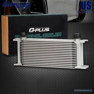 16 Row An 10 Universal Aluminum Engine Transmission Oil Cooler Kit