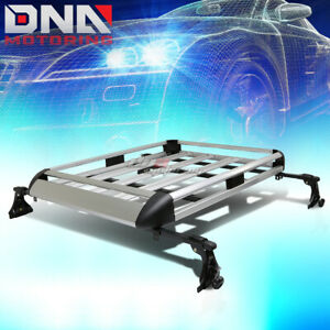 50 x 38 aluminum Roof Rack Car suv Top Cargo Baggage bag Carrier Basket crossbar