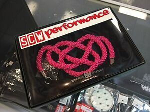 Real Junction Produce Momotsuna Tsuna Rope Knot Vip Genuine Jdm Hot Pink