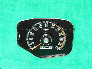 1969 1970 Mustang Fastback Boss Coupe Convertible Orig Dash Speedometer Gauge