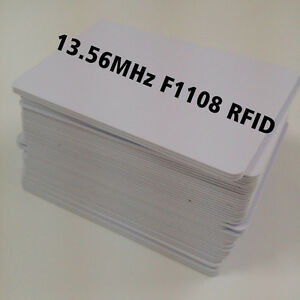 50x Csf Contactless 13 56mhz Rfid Proximity Smart Ic Card By Inkjet Printers