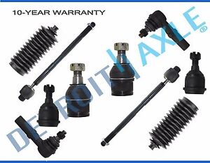 2wd 2006 2007 2010 Dodge Ram 2500 3500 All 4 Front Ball Joints All 4 Tie Rods