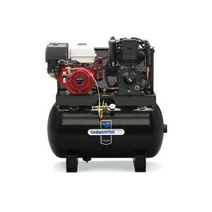 Industrial Air Compressor 50 Gal Honda Gx390 Engine 17 9cfm 100psi