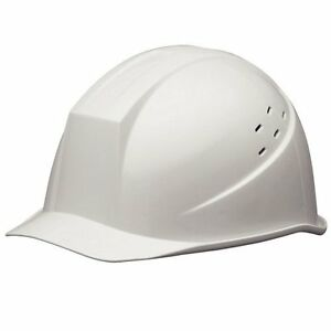 Midori Anzen Safety Hard Hat For Construction Helmet White From Japan