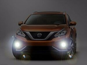 Xenon Halogen Fog Lamps Driving Lights Kit For 2015 2017 Nissan Murano 15 16 17