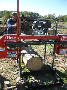 2018 Hfe 30 Portable Sawmill Portable Bandmill Band Mill Lumber
