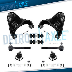 Blazer S10 Jimmy Sonoma Front Upper Control Arm Ball Joint Tierod Sway Bar 4wd