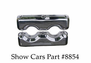 Valve Covers 348 409 65 64 63 62 61 chevy Chevrolet Impala Ss Polished Aluminum