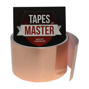 Copper Foil Tape 2 X 10ft Emi Conductive Adhesive Ship From Usa