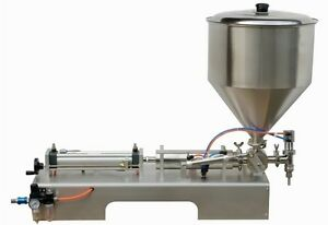 Paste Filling Machine For Cream sauce 100 1000ml With Lager Valve