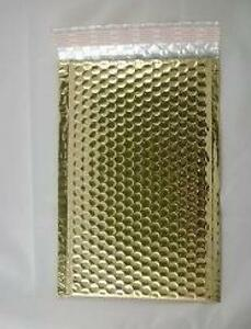 Case Of 200 Gold 6 5 X 10 5 Bubble Mailers Bubble Envelopes Blingvelopes